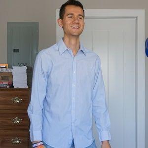 Arrow Men's Slim Fit Wrinkle Free Dress Shirt